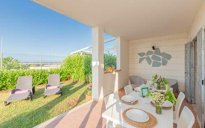 Villa La Notte: Garden space