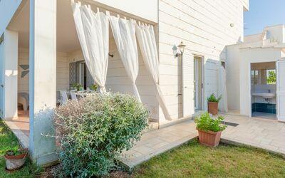 Villa La Notte: external area