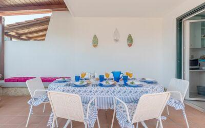 Villa Gabriella: Al fresco