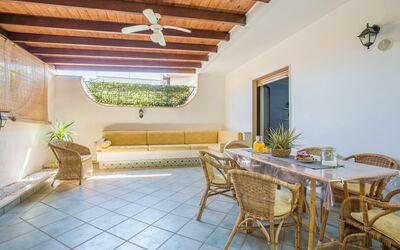 Villa Avion: Veranda
