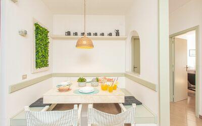 La Terrazza Vista Mare Di Marco: Cucina/sala da pranzo