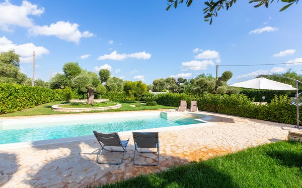 Villa Maizza, Villa for rent in Carovigno, Apulia