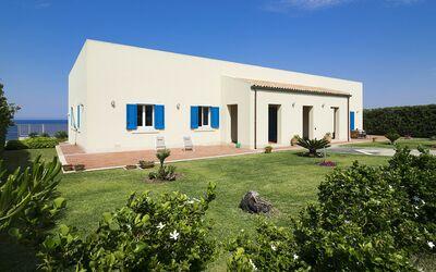 Villa Blu: giardino