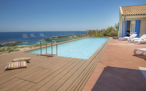 Villa Blu, Villa for rent in Augusta, Sicily
