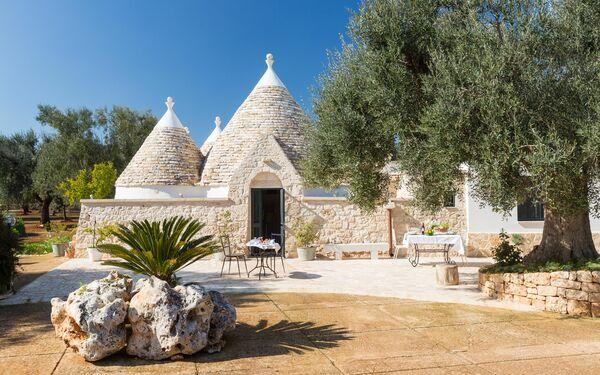 Trullo Oroncal, Villa for rent in San Vito Dei Normanni, Apulia