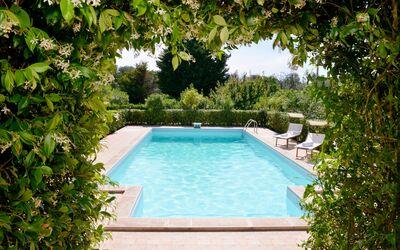 Villa Lidia Con Piscina: Piscina indipendente