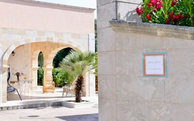 Villa Lidia Con Piscina: Ingresso