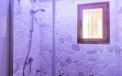 Villa Lidia Con Piscina: Bagno 2 - con doccia