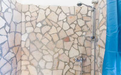 Villa Lidia Con Piscina: Bagno in camera - con doccia
