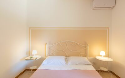 Villa Lidia Con Piscina: Camera matrimoniale 1
