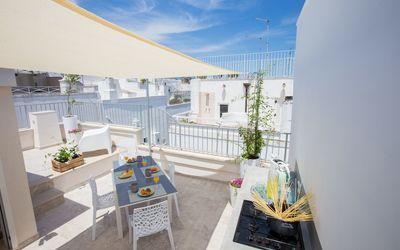 Casa Adelia Vista Mare: Second external kitchen