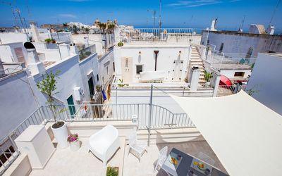 Casa Adelia Vista Mare: Sea View terrace