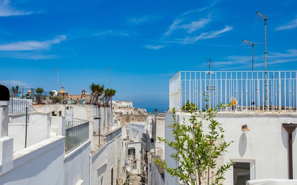 Casa Adelia Vista Mare, Holiday Apartment for rent in Ostuni, Apulia
