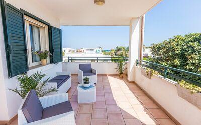 Appartamento Panorama Sul Mare: Veranda anteriore