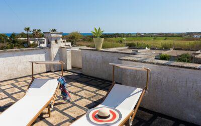 Appartamento Panorama Sul Mare: Terrazza solarium