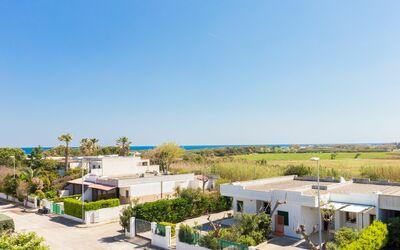 Appartamento Panorama Sul Mare: Panorama dalla terrazza