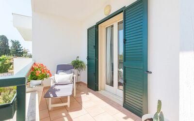 Appartamento Panorama Sul Mare: Veranda