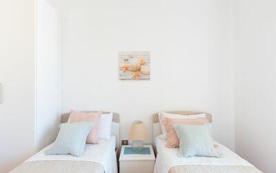Appartamento Panorama Sul Mare: Camera da letto con due letti singoli
