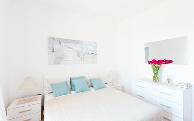 Appartamento Panorama Sul Mare: Camera da letto matrimoniale