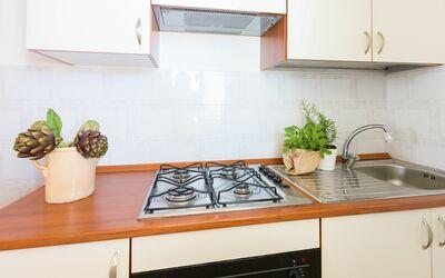Appartamento Panorama Sul Mare: Cucina