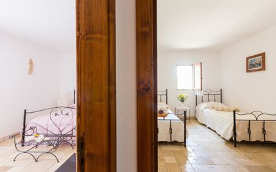Rustico Pugliese: bedrooms perspective