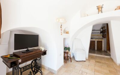 Rustico Pugliese: living room