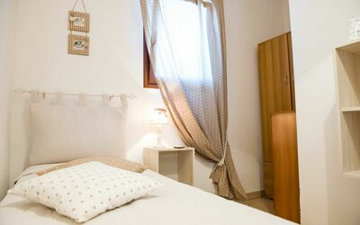 Appartamento Pineta Mare: Second bedroom with 2 individual beds