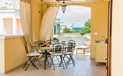 Appartamento Pineta Mare: terrace-al fresco