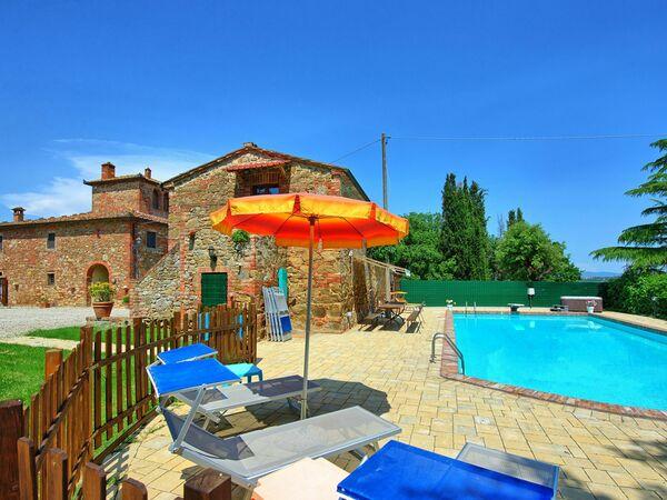 Vecchio Fienile, Villa for rent in San Savino, Tuscany