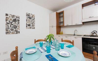 Villa Laurenzia: kitchen dining room
