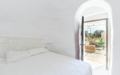 Trullo Dell'angelo: Second double bedroom