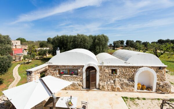Trullo Dell'angelo, Country House for rent in Carovigno, Apulia