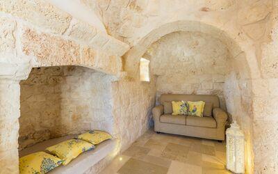 Trullo Dei Sogni: living room