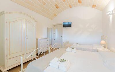 Trullo Dei Sogni: bedroom