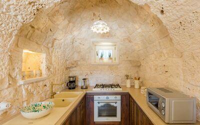 Trullo Dei Sogni: kitchen