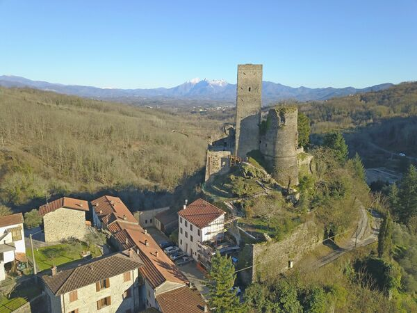 Toskánsko, Tresana, B&b Castello Di Tresana