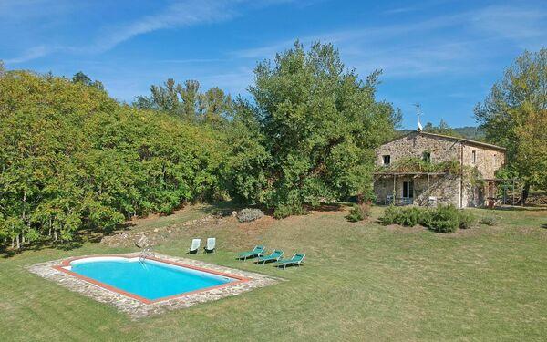 Villa Gualchiere, Villa for rent in San Casciano Dei Bagni, Tuscany