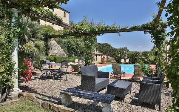 Villa Zaballina, Villa for rent in San Giorgio, Tuscany