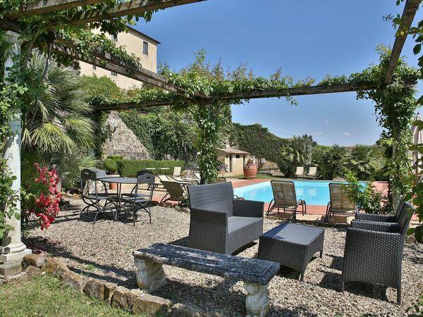 Villa Zaballina, Villa for rent in San Giorgio, Tuscany