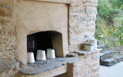 Nido In Versilia: forno a legna