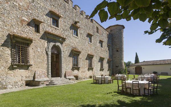 Schloß Castello Di Meleto in  Gaiole In Chianti -Toskana