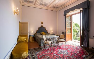 Villa Rocchi: Bedroom Firenze