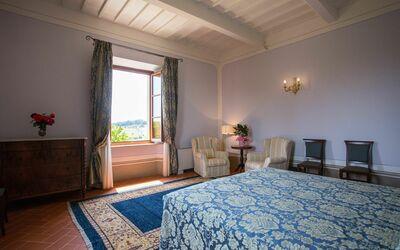Villa Rocchi: Bedroom Siena