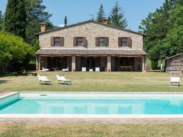 Podere a La Fi, Villa for rent in Cetona, Tuscany