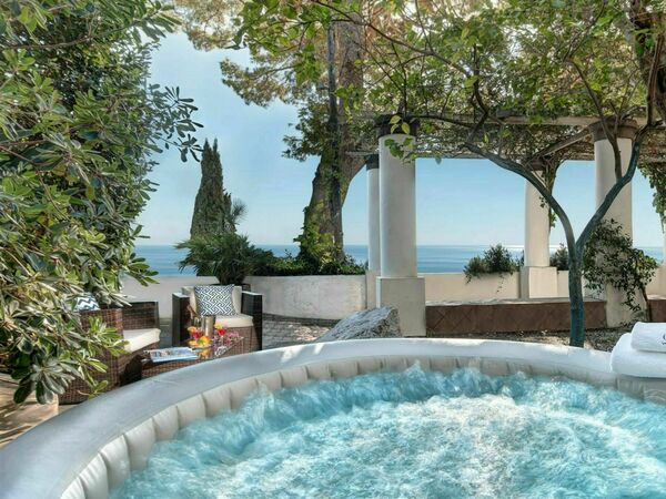Campania, Capri, Villa Marina Little Beach