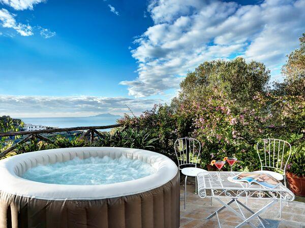 Sorrento Hills Comfort Villa, Villa for rent in Palma Campania, Campania