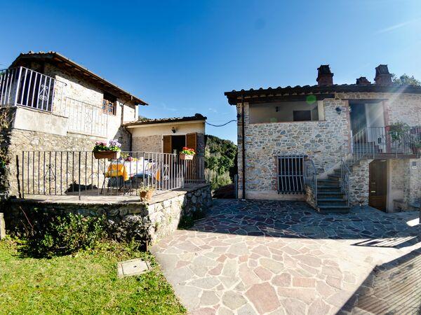 Orto Degli Olivi Proprietà, Villa for rent in Santa Maria Albiano, Tuscany