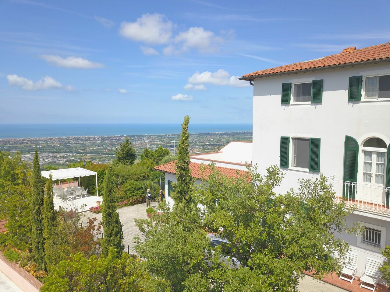 Holiday Apartments with sea view in Tuscany