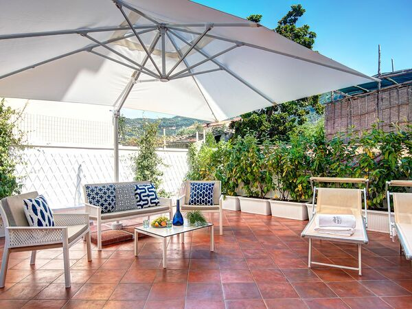 Gazebo Terrace Apartment, Apartment for rent in Sorrento, Campania