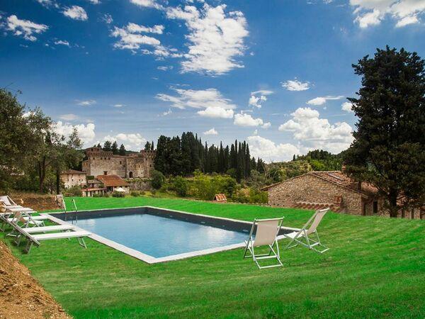 Villa Il Pergolato in affitto a Fiesole